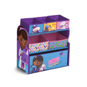 Delta Children Multi-Bin Toy Organiser, Disney Junior Doc McStuffins