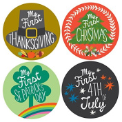 My First Holiday Baby Stickers - Gender Neutral