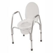 3-in-1 Aluminium Commode & Raised Toilet Seat
