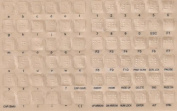 Braille Keyboard Stickers for the Blind and Visually Impaired