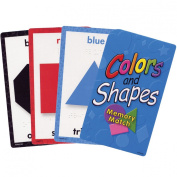 Colours and Shapes Memory Match- Braille Cards