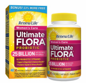 Ultimate Flora Women's Care Probiotic Supplement Vegetable Capsules - Bonus Pack - 40 caps