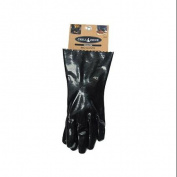 BLUE RHINO GLOBAL SOURCING Insulated BBQ Gloves, Black