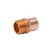 Mueller Industries W 61145 . 190cm Copper x 2.5cm Male Adapter
