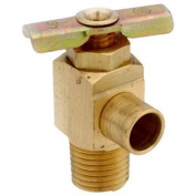 Anderson Metals 59430-02 . 33cm Male Pipe Thread 90 Degree Brass Drain