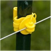 Fi-Shock ITPLY-FS Insulator Tpost Pin-Lock, Yellow