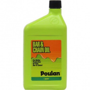 Poulan Pro Bar and Chain Oil, 0.9l