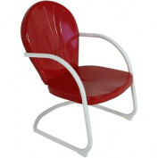 Jack Post BH-20CR 70cm x 60cm x 90cm Red Retro Chair