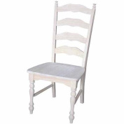International Concepts C-2170P Maine Ladderback Chair, Ready To Finish