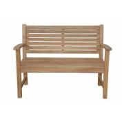 Anderson Teak Victoria 2-Seater Teak Garden Bench
