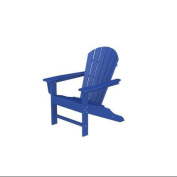 100cm Recycled Earth-Friendly Outdoor Patio Adirondack Chair - Pacific Blue
