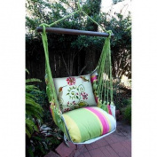 Magnolia Casual Hummingbirds Hammock Chair & Pillow Set
