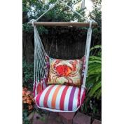 Magnolia Casual Crabby Hammock Chair & Pillow Set