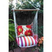 Magnolia Casual Poppies Hammock Chair & Pillow Set