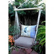Magnolia Casual Bluejay Hammock Chair & Pillow Set