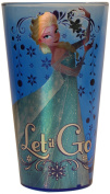 "Silver Buffalo DP45031PZ Frozen's Elsa ""Let it Go"" Single Pint Glass, 470ml, Blue"