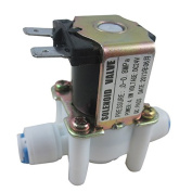 TmallTech 24V 0.6cm Inlet Feed Water Solenoid Valve for RO Reverse Osmosis Pure System