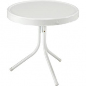 Jack Post BH-2W 50cm - 1.3cm x 50cm White Retro Table