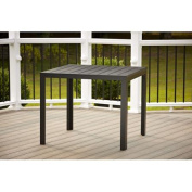 Cosco Outdoor Dining Table, Black