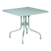 Compamia ISP770-SGRY Forza 80cm . Square Folding Table - Silver Grey