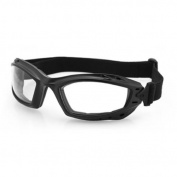 Bobster Bala Goggles Anti-Fog, Matte Black with Yellow Lens