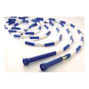 US Games Segmented Jump Rope 3.4m Blue/White