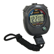 Digital Stopwatch Chronograph Sports Timer w Cord