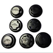 Elevation Training Mask 2.0 Resistance Caps and Valves - Black