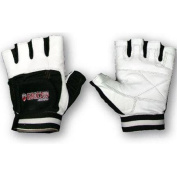 Grizzly Fitness Paws Leather Training Gloves - 2XL - White