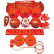 Sportime Grade 2 Recess Pack, Assorted Items, Orange