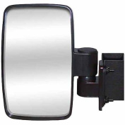 CIPA Golf Cart Side Mount Mirror with Brackets