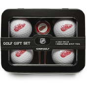Team Golf NHL Detroit Red Wings 4 Golf Ball And Divot Tool Set