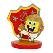 Penn Plax SpongeBob Football Player 7.6cm . Aquarium Figure