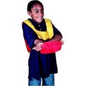 Sportime, Dub-L-Pin Pinnie, Youth Size, 48cm x 24cm , Blue/Yellow
