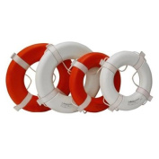 Kemp 10-206-ORG 50cm Coast Guard Approved Ring Buoy, Orange