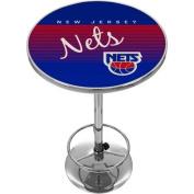New Jersey Nets Hardwood Classics NBA Chrome Pub Table