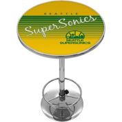 Seattle Super Sonics Hardwood Classics NBA Chrome Pub Table