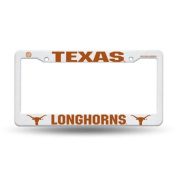 Texas Longhorns Official NCAA 30cm x 15cm Plastic Licence Plate Frame by Rico Industries