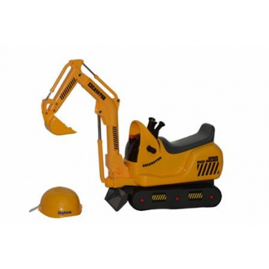 Skyteam Technology Micro Construction Excavator Foot-to-Floor Ride-On