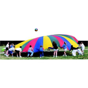 Sportime Gripstarchute Parachute with 36 Handles, 11m Diameter x 34m Circumference