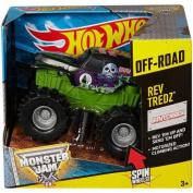 Hot Wheels Monster Jam Rev Tredz Grave Digger Vehicle