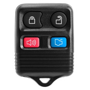 New Ford Black Replacement 4 Button Keyless Entry Remote Control Key Fob Clicker