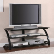 Versatile TV Console in Black for TVs up to 120cm