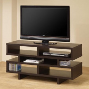Coaster Cappuccino Organise TV Console for TVs up to 120cm
