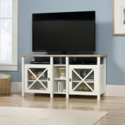 Sauder Cottage Road TV Stand for TVs up to 130cm , Soft White