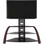 AVF Kingswood Walnut Floor Stand with Mount for TVs 80cm - 140cm