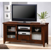 Coaster Transitional Warm/Brown TV Console for TVs up to 150cm