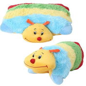 Baby Pillow - 2-in-1 Colourful Animal Pillow - Beetle Plush Pillow - Lying or Standing Cuddly Soft Toy