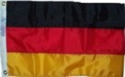 30cm x 46cm German Germany Flag Sewn Stripes Boat Flag US Made Ships Fast WindStrong®