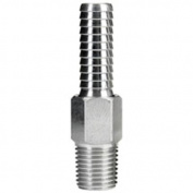 Moeller 033806-10 1/4 NPT 0.6cm Barb Brass Anti-Syphon Valve